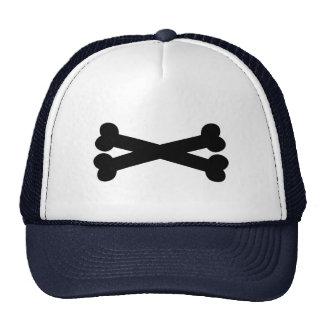 Bones crossed hat