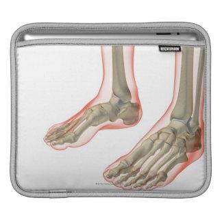 Bones of the Feet iPad Sleeve
