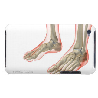 Bones of the Feet iPod Touch Case-Mate Case