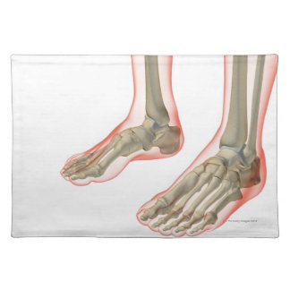 Bones of the Feet Placemat