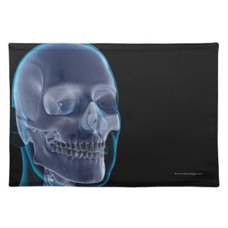 Bones of the Head 2 Placemat