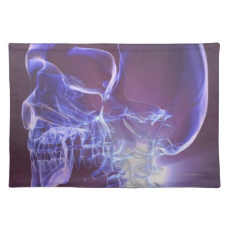 Bones of the Head and Neck 4 Placemat