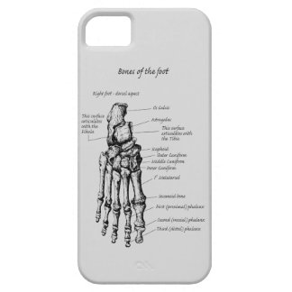 Bones of the Human Foot Case For The iPhone 5