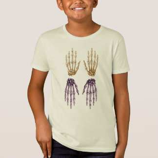 Bones of the Human Hand Tee Shirts