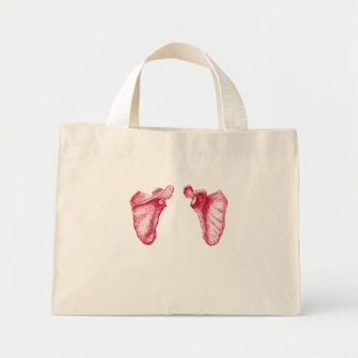 Bones of the Human Scapula Mini Tote Bag