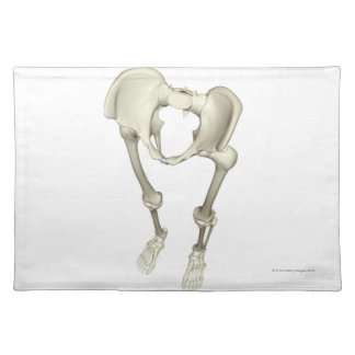Bones of the Lower Body 3 Placemat