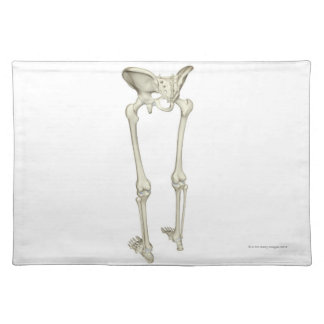 Bones of the Lower Body 5 Placemat