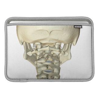 Bones of the Neck 4 MacBook Sleeve