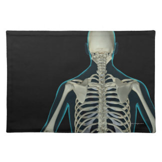 Bones of the Upper Body 5 Place Mats