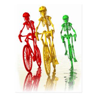 Bones on Bikes Postcard