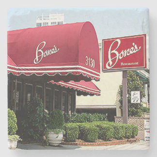 Bones Restaurant, Buckhead, Atlanta Coaster Stone Coaster