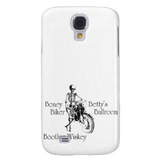 Boney Betty's Biker Ballroom Bootleg Wiskey Galaxy S4 Case