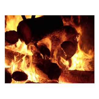 Bonfire #4 postcard