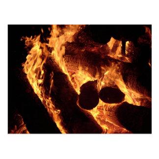 Bonfire #5 postcard
