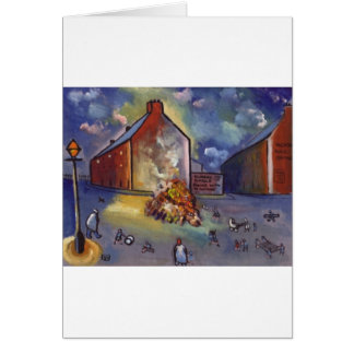 BONFIRE NIGHT GREETING CARD
