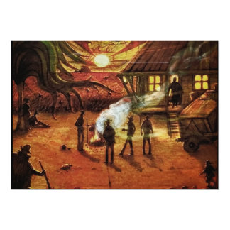 Bonfire Night! Standard white envelopes included 13 Cm X 18 Cm Invitation Card