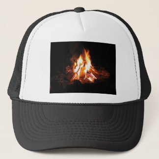BonFire Party  Bon Bonne Fire Trucker Hat