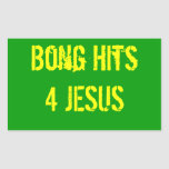 Bong Hits 4 Jesus Sticker