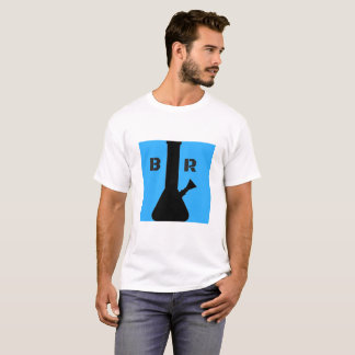 Bong Rips Sky Blue Logo T-Shirt by #GrindAndVape