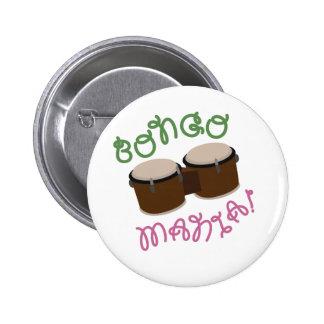 Bongo Mania 2 Inch Round Button