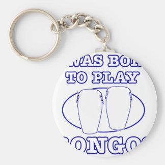 bongos Designs Keychain