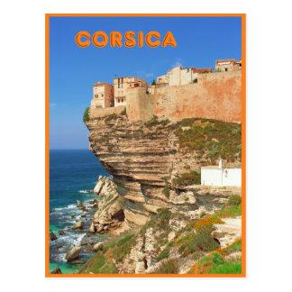 Bonifacio, Corsica, France Postcard