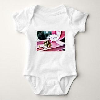 Bonjour Hamster Baby Bodysuit