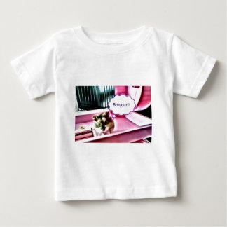 Bonjour Hamster Baby T-Shirt