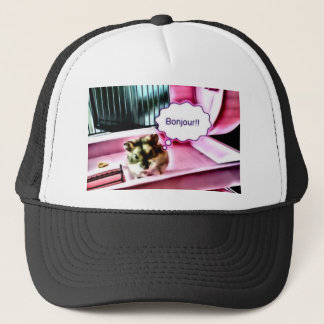 Bonjour Hamster Trucker Hat