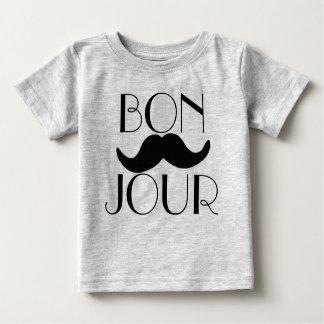 BONJOUR Moustache Tshirt