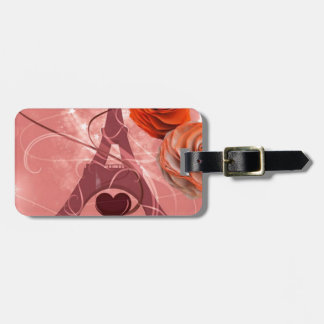 Bonjour Paris! Luggage Tag