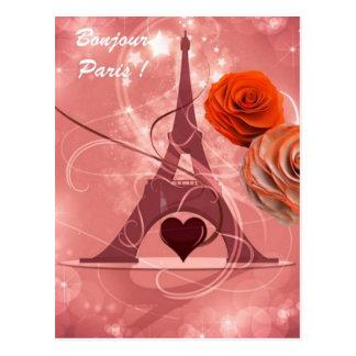 Bonjour Paris! Postcards