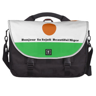 Bonjour sa sejoli Beautiful Niger jpg Laptop Computer Bag