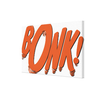 BONK! CANVAS PRINT