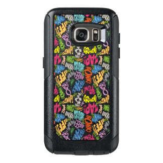 BONK ZAP CRASH Pattern OtterBox Samsung Galaxy S7 Case