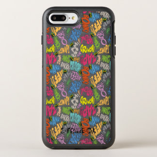 BONK ZAP CRASH Pattern OtterBox Symmetry iPhone 8 Plus/7 Plus Case