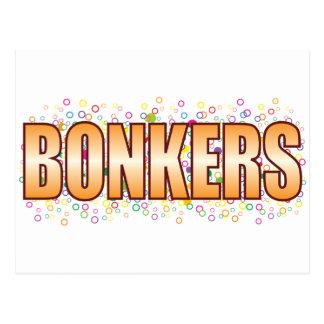 Bonkers Bubble Tag Postcard