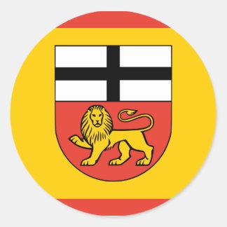 Bonn, Germany Classic Round Sticker