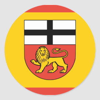 Bonn, Germany Round Sticker
