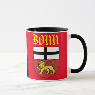Bonn Germany Scenic and Crest Mug