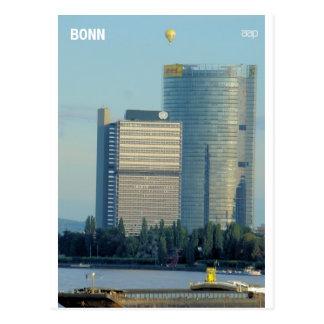 Bonn, Germany, the Rhine River Post Card