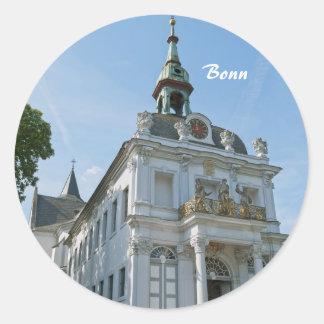 Bonn Round Sticker
