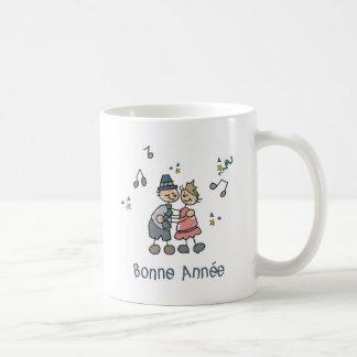 Bonne Annee Basic White Mug