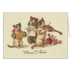 """""""Bonne Annee"""" Vintage French New Year Card"""