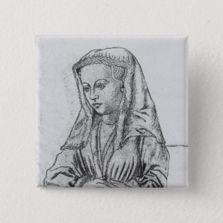 Bonne d'Artois, Countess of Nevers and Rethel 15 Cm Square Badge