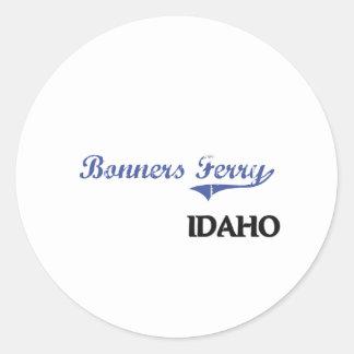 Bonners Ferry Idaho City Classic Sticker
