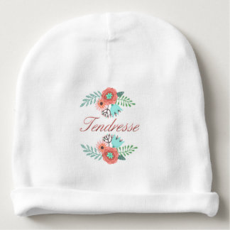 Bonnet Tenderness for My small Heart Baby Beanie