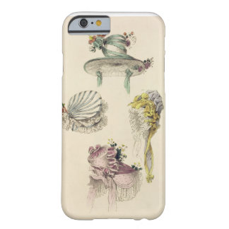 Bonnets for an occasion, fashion plate from Ackerm Barely There iPhone 6 Case