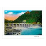 Bonneville Dam on Columbia River Postcards