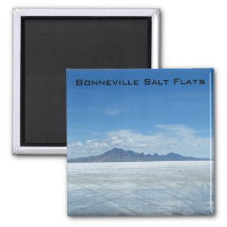 Bonneville Salt Flats Refrigerator Magnet